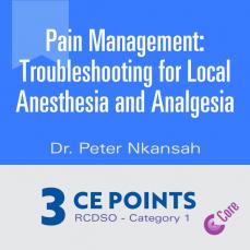 Pain Management Course Image